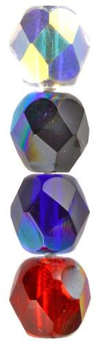 Iridescent Glass Beads
