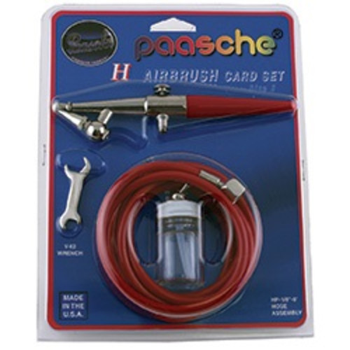 H3 Single Action Paasche Airbrush Kit