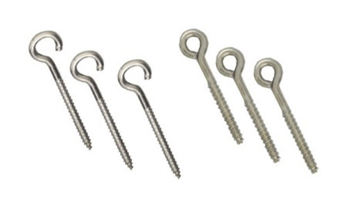 Stainless Screw Eyes