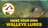 Make your own Walleye Lures