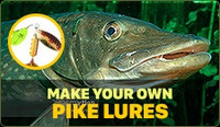 Make your own Northern Pike Lures