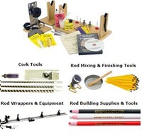 Rod Building Tools and Rod Wrappers