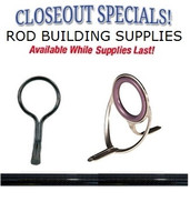 Closeout Rod Building Supplies