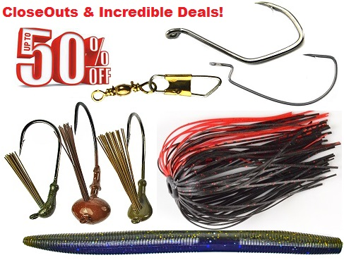 America's Largest Selection of Tackle Building Supplies!